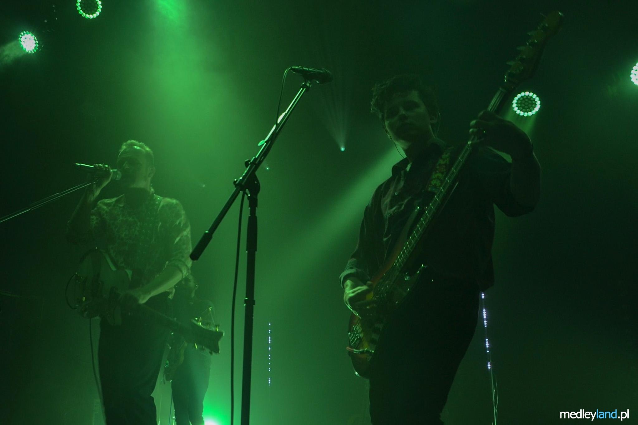 Duet Karaś/Rogucki zagrali Ostatni Bastion Romantyzmu w poznańskiej Tamie. Muzycy Comy i The Dumplings promują pierwszy wspólny album. Zdjęcia z 27 lutego 2020.