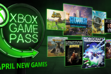 Xbox Game Pass kwiecień 2018