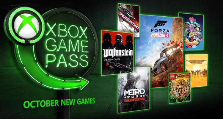 Game Pass październik 2018