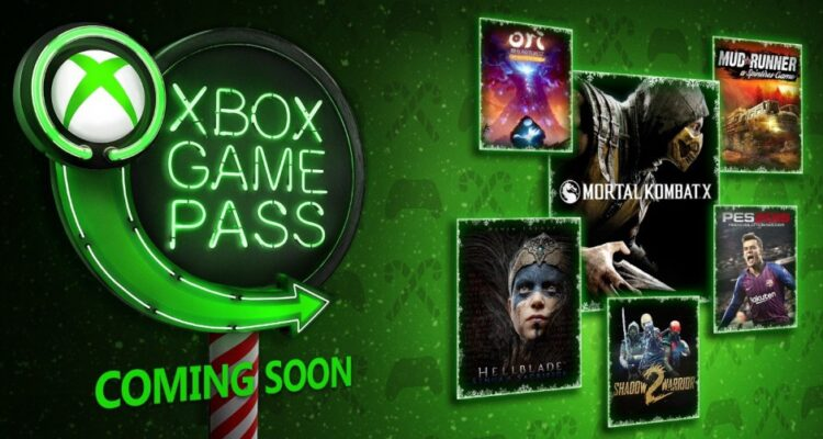 Xbox Game Pass grudzień 2018 The Game Awards