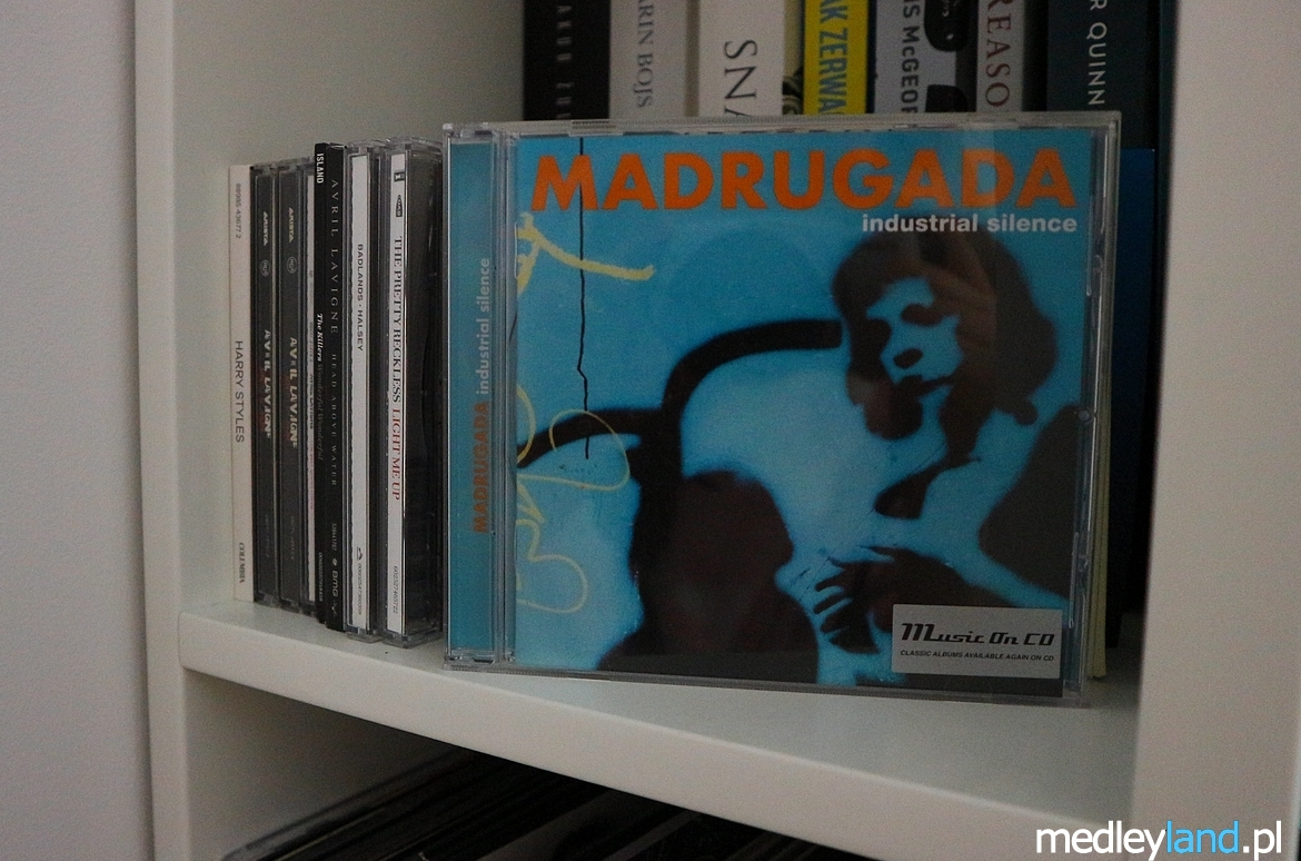 Madrugada - Industrial Silence CD 1999